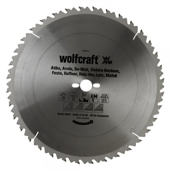Wolfcraft lama per seghe circolare da banco HM, 36 denti