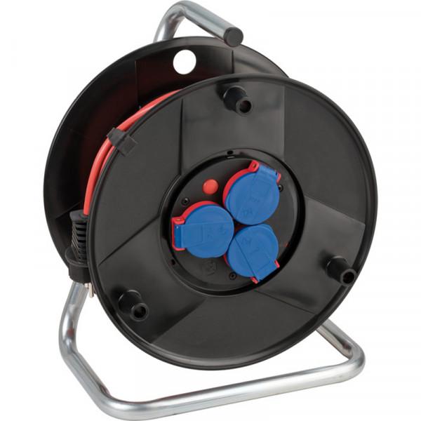 Brennenstuhl Kabeltrommel für die vorübergehende und zeitlich begrenzte Verwendung im Freien, 40m Kabel in rot - 1098540001