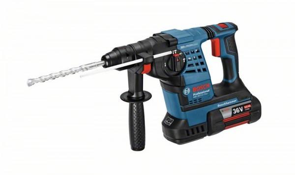 Bosch Professional Akku-Schlagbohrhammer GBH 36 V-LI Plus, mit 2 x 6,0 Ah Li-Ion Akku, L-BOXX