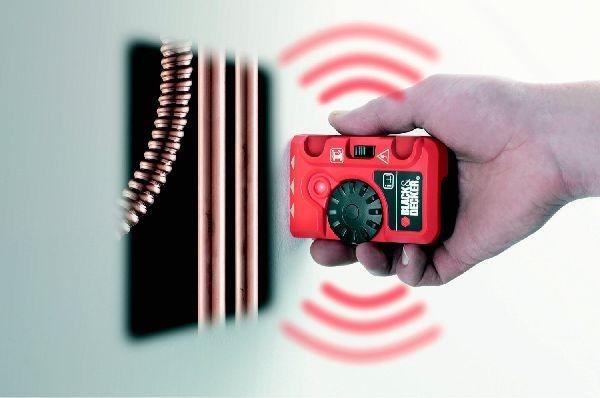 Black & Decker Metalldetektor Stromdetektor BDS200