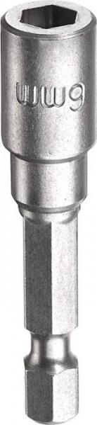 """KWB Zeskant-dopsleutel, 1/4"""" met E 6.3-schacht, 6 mm - 102706"""