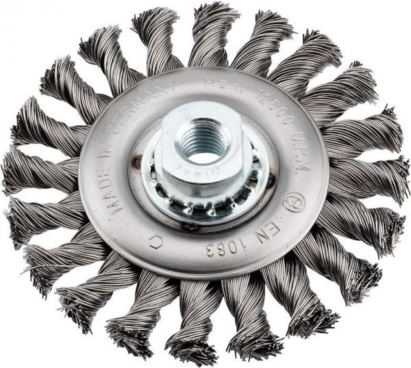 KWB AGGRESSO-FLEX® schijfborstel, staaldraad, M 14, gevlochten - 719730