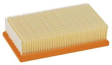 Bosch Filtre plissé plat en cellulose pour GAS 35-55