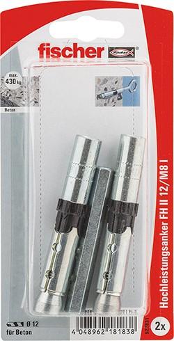 Fischer Cheville hautes performances FH II-I 12/M8, libre service - 522831