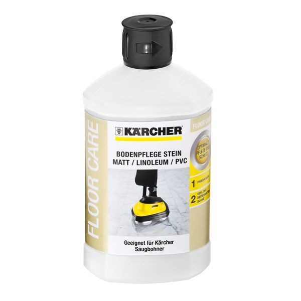 Kärcher Bodenpflege Stein matt/ Linoleum/ PVC RM 532, 1 l - 6.295-776.0