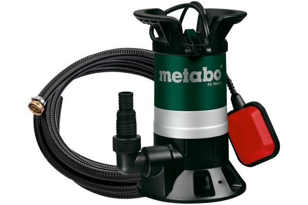 Metabo PS 7500 S Set Vuilwaterdompelpomp, doos, + Afvoerset met armaturen - 690864000