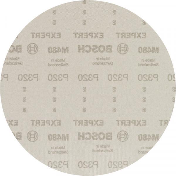 Bosch Professional EXPERT M480 Schleifnetz für Trockenbauschleifer, 225mm, G 320, 25-tlg. - 2608900714
