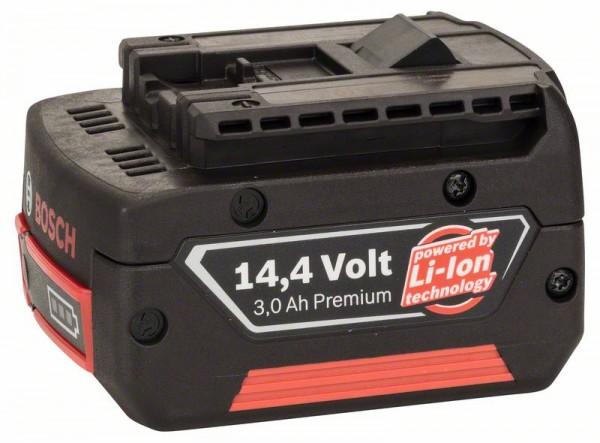 Bosch Batteria ad innesto GBA da 14,4 V 3,0 Ah M-C HD, 3 Ah, Li Ion