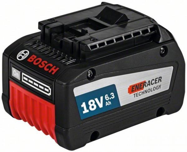 Bosch Professional Akku Starter-Set: 2 x GBA 18 Volt, 6,3 Ah EneRacer mit GAL 1880 CV
