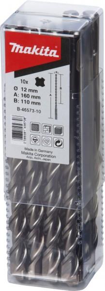 Makita SDS-PLUS boor 5x160mm, 10 stuks - B-46501-10