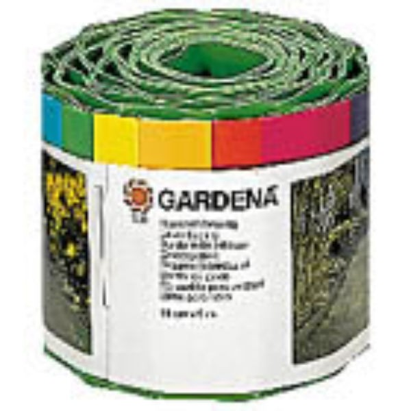 Gardena Bordure de gazon vert 15 cm x 9 m