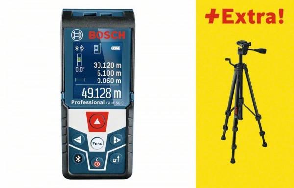 Bosch Télémètre laser GLM 50 C, avec Trépied BT 150 - 06159940H0