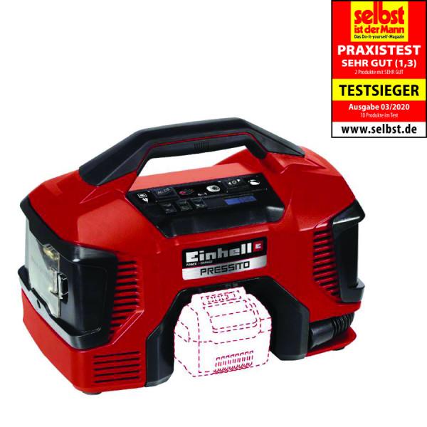 Einhell Hybrid-Kompressor PRESSITO, ohne Akku und ohne Ladegerät - 4020460