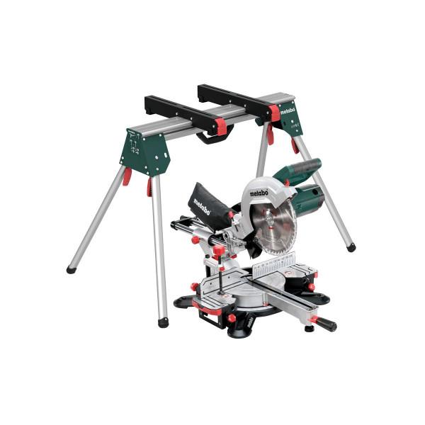 Metabo Kappsäge KGS 254 M Set, mit Maschinenständer KSU 100, Karton - 690993000