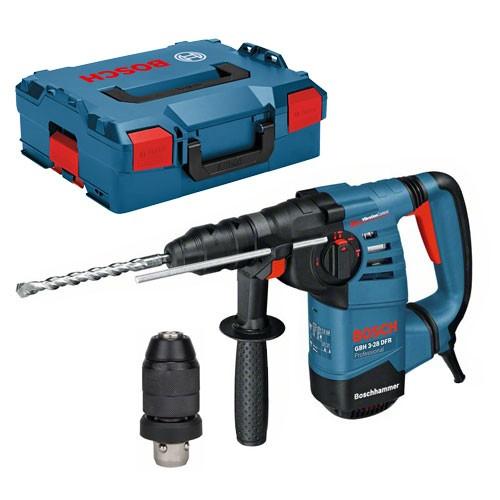 Bosch Professional Bohrhammer mit SDS-plus GBH 3-28 DFR, mit L-BOXX