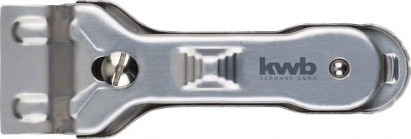 KWB Huishoudelijke schraper van roestvrij staal - 013810