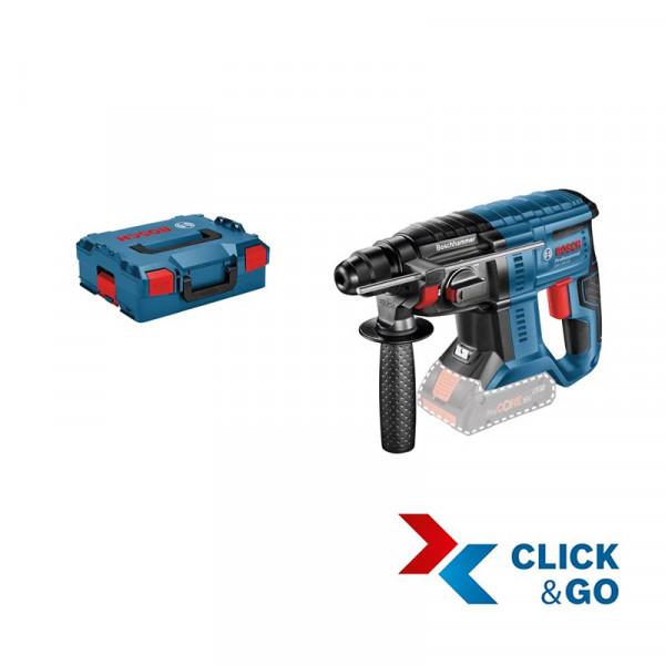 Bosch Professional Akku-Schlagbohrhammer GBH 18V-20, ohne Akku und Ladegerät, L-BOXX - 0611911001