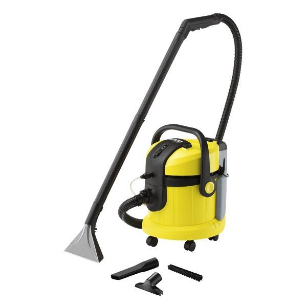 Kärcher Teppichbodenreiniger SE 4002 Nass und trocken einsetzbar großes Düsenzubehör