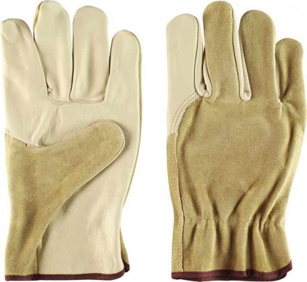KWB Nappaleren handschoen, Rund nerfleer, soepel, binnen gevoerd - 937150