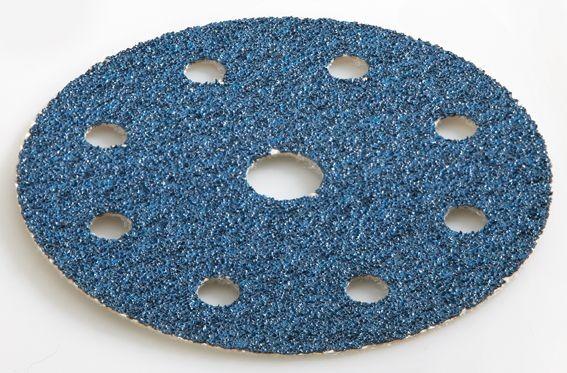 Flex Velcro schuurpapier ZIRCOFLEX D125-8 ZI-A40 VE25 - 393185