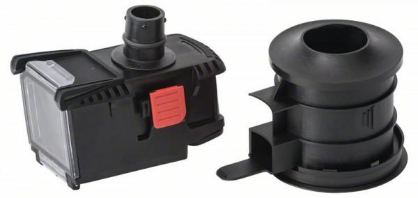 Bosch Set mit Bohrkronen Adapter und Staubbox