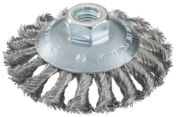 Metabo Rundbürste 125x0,5x10 mm/ M14, Stahl, gezopft