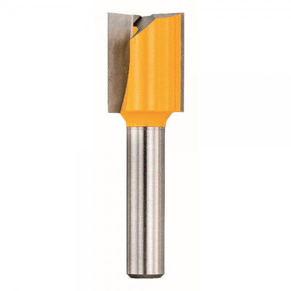 DeWALT Fresa per scanalature, codolo 8mm, tagliente 15 mm, due taglienti- DT90007-QZ