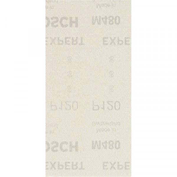 Bosch Professional EXPERT M480 Schleifnetz für Schwingschleifer, 93 x 186mm, G 120, 50-tlg., für Exzenterschleifer - 2608900754