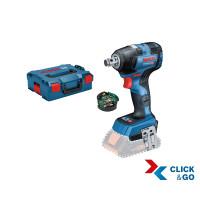 Bosch Professional Boulonneuse sans-fil GDS 18V-200 C, GCY 30-4, L-BOXX (sans batterie ni chargeur) - 06019G4303