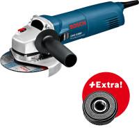 Bosch Professional Winkelschleifer GWS 1100 + SDS Schnellspannmutter, 1100 W - 0601822400