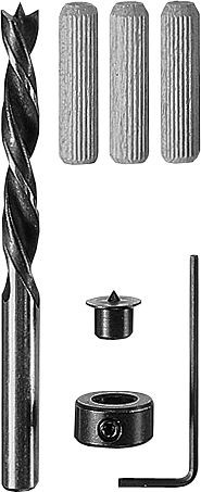 Bosch Holzdübel-Set, 32-teilig, 6 mm, 30 mm
