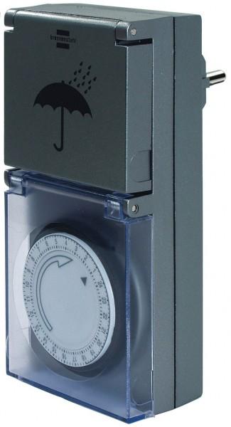 Brennenstuhl Mechanische Zeitschaltuhr MZ44 - 1506460 spritzwassegeschützt IP 44
