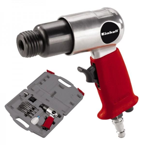 Einhell DMH 250/2 Set Druckluft Meisselhammer + 4-tlg Meißel-Set