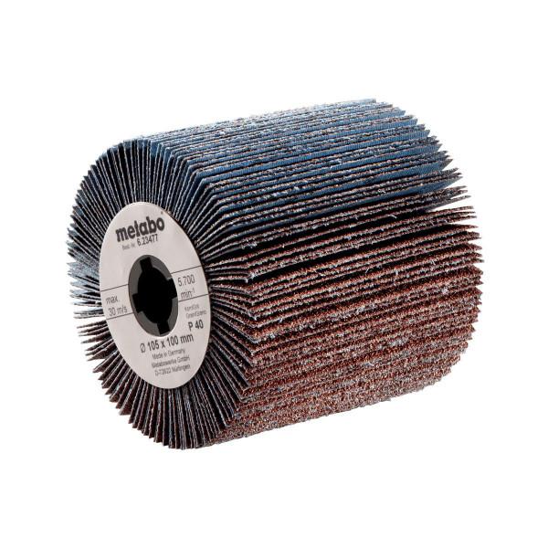 Metabo Rueda abrasiva de láminas 105x100 mm, P 120, para SE 12-115 (623480000)