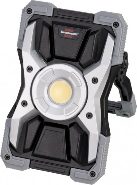Brennenstuhl Akku LED Arbeitsstrahler RUFUS / LED Arbeitsleuchte für Werkstatt mit Powerbank-Funktion, Li-Ion Akku 3.7V/5Ah - 1173100100