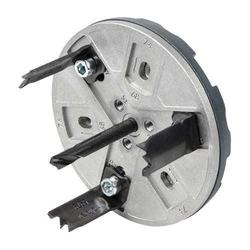 Wolfcraft Sega a tazza regolabile per elettricista, 30 mm - 5983000