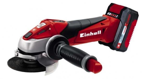 Einhell Akku-Winkelschleifer TE-AG 18/115 Li Kit (1x3,0Ah) - 4431119
