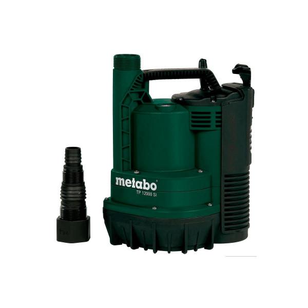 Metabo Pompa sommersa ad aspirazione a terra per acque chiare TP 12000 SI, Scatola di cartone - 0251200009