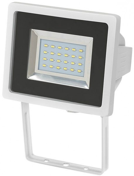Brennenstuhl SMD-LED Strahler L DN 2405 IP44 24 x 0,5W weiss, zur Wandmontage