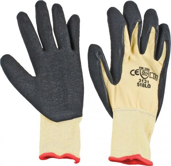 KWB Gebreide werkhandschoen, speciale latex coating op de handpalm - 935440