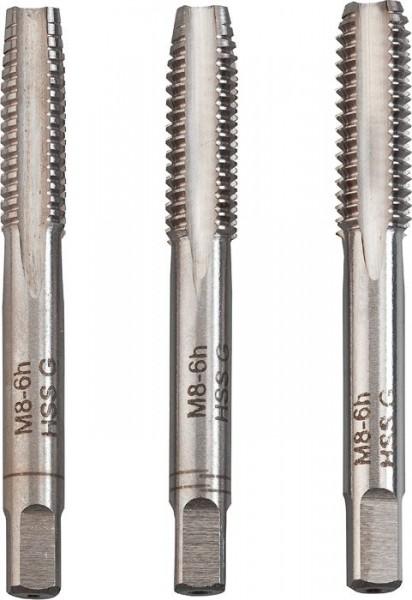 KWB Handmatige schroefdraadtappen, 3-delig - 443312