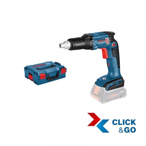Bosch Professional Akku Trockenbohrschrauber GSR 18 V-EC TE Professional in L-BOXX, ohne Akku und Ladegerät - 06019C8004