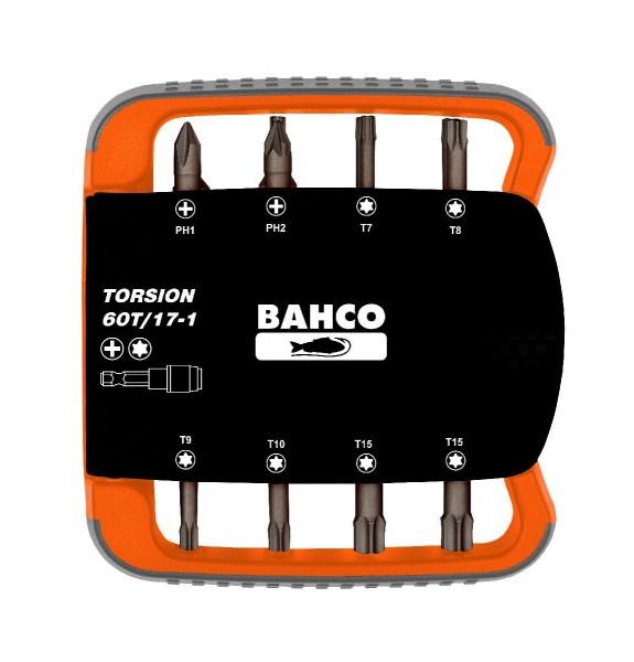 Bahco JEU D'EMBOUTS 17 PCS TORSION - 60T/17-1