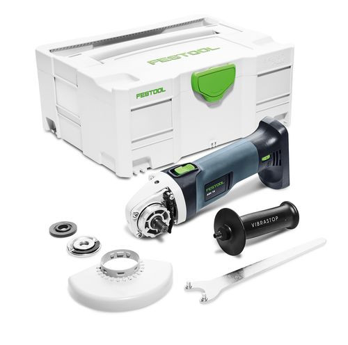 Festool Meuleuse d'angle sans fil AGC 18-125 Li EB-Basic, sans batterie, sans chargeur - 575343