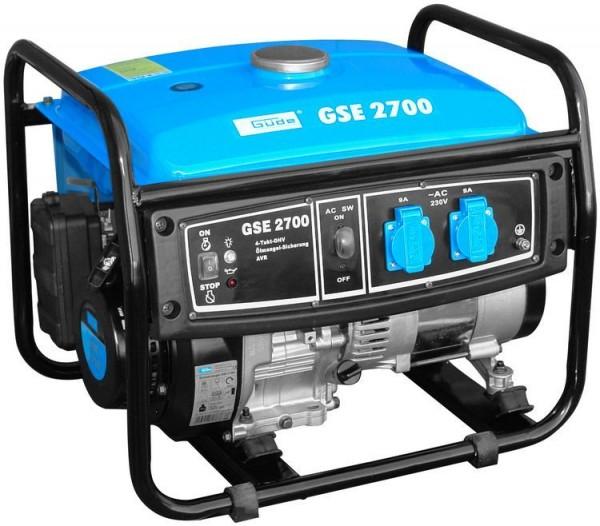 Güde Groupe électrogène avec grand réservoir GSE 2700 4T - 40628