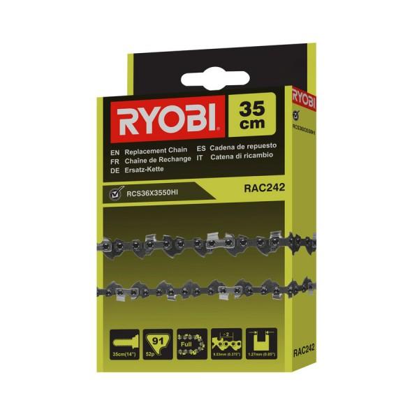 Ryobi RAC242 chaîne pour tronçonneuse RCS36X3550Hi