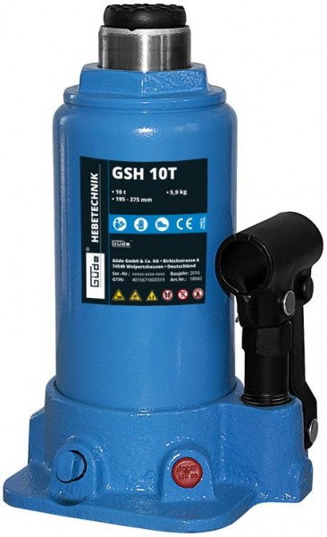 Güde Stempelwagenheber GSH 10T - 18042