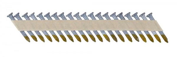 DeWALT Chiodi in stecca, ring, zincato, 50 mm, 1500 pezzi - DNM40R50HDZ