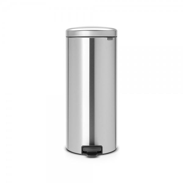 Brabantia Treteimer newIcon, 30 Liter, Matt Steel