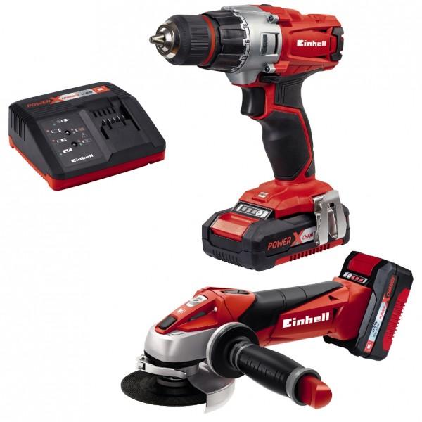 Einhell Kit d'outils TE-TK 18 Li Kit (CD+AG) - 4257211